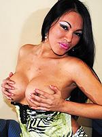 Peruvian teresa. Cute Teresa posing her big boobs and cock